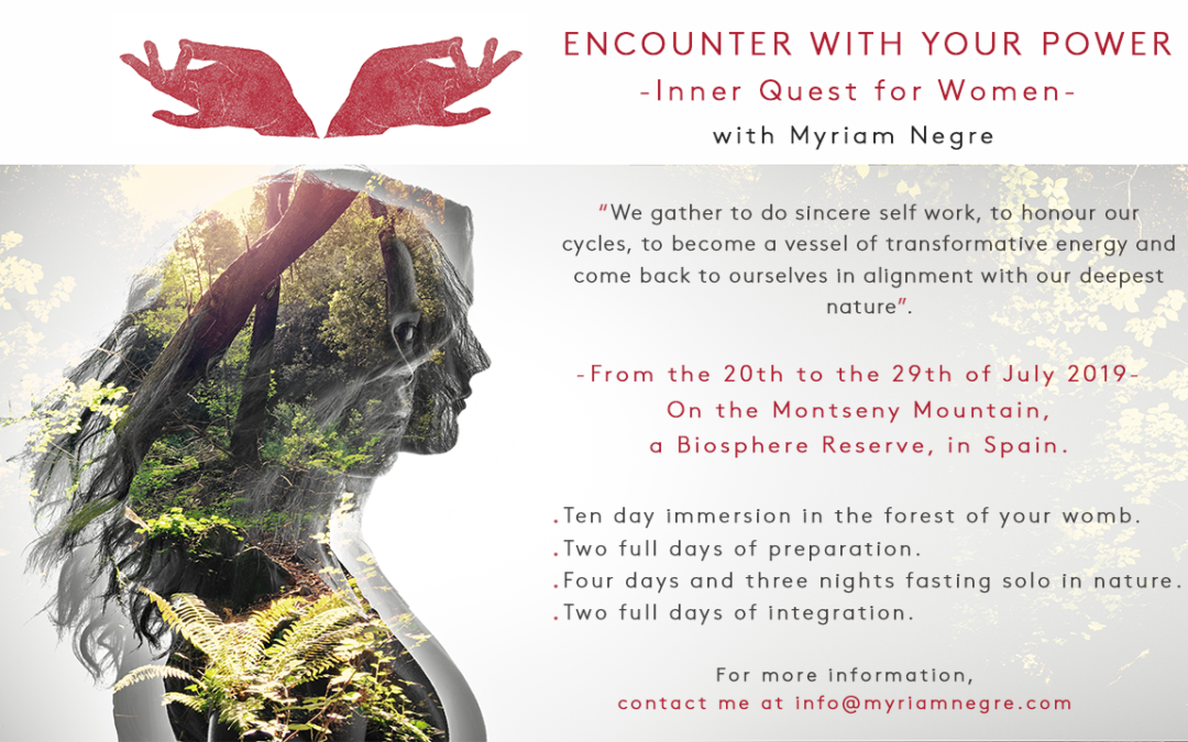 Encounter with your Power 2019 Myriam Negre